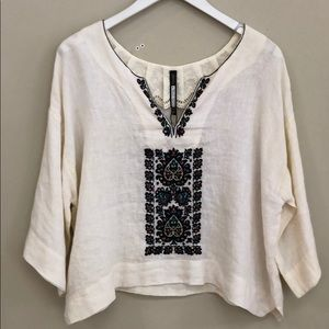 Plenty By Tracy Reese NWT Embroidered T
